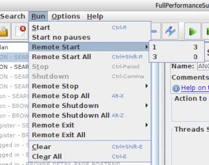 JMeter Remote Start